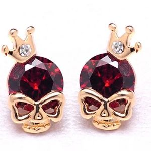 Jewelry - ❤💋🆕️2 FOR 1- Red & white sugarskull earrings